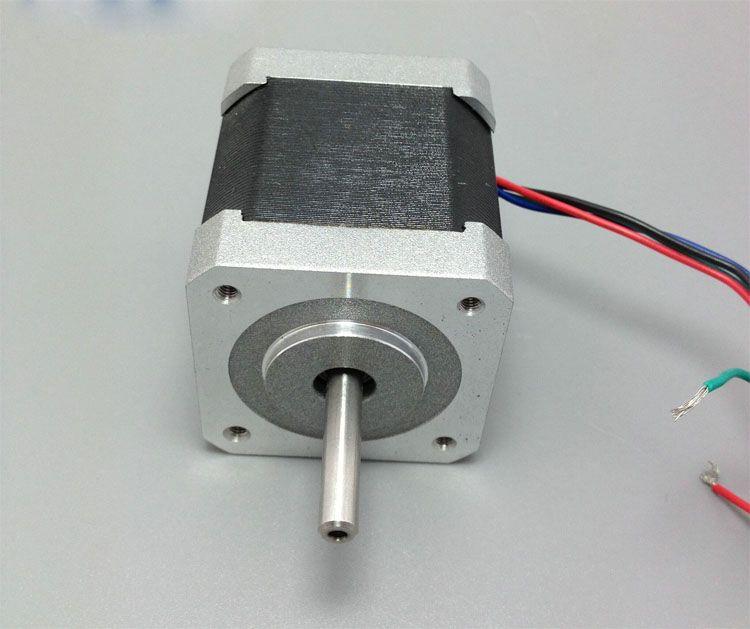 Ein stück 42HM48-1684 0,9 grad 42mm 2 phase hybrid schrittmotor NEMA17 bipolar schritt motor einwellen 1.68A CE ROHS