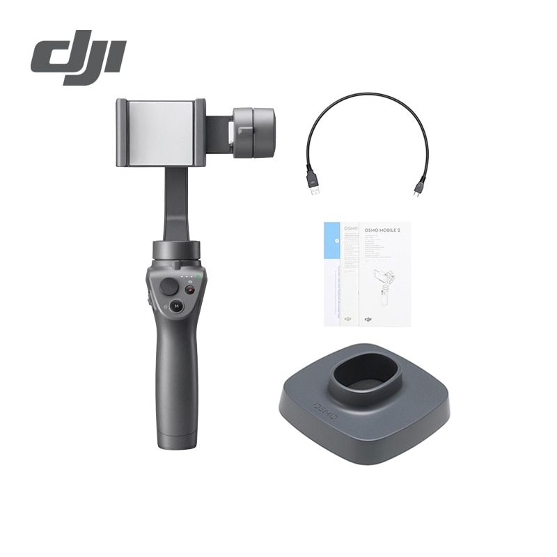 DJI Osmo Mobile 2 3-Axis Handheld Stabilizer for Smartphone 3-axis Handheld Gimbal Stent Zoom Control Panorama