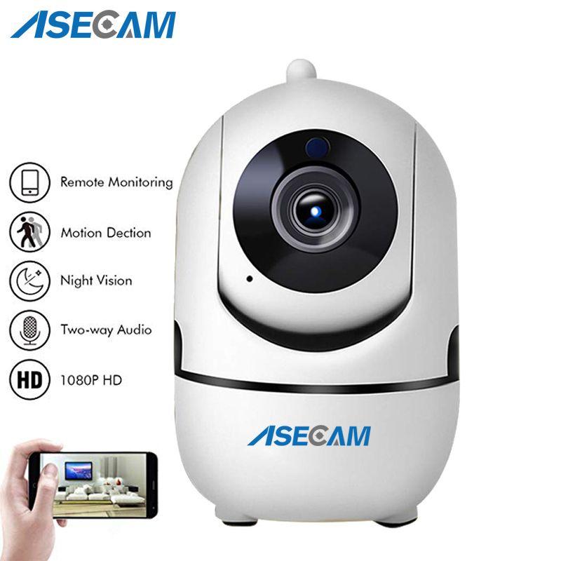 ASECAM HD 1080 P Nuage caméra ip sans fil Intelligent Auto Suivi Humains Home Security CCTV Réseau Wifi Caméra Détection de Mouvement