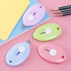 Bureau Papeterie Portable Mini Coupe-Papier Coupe-Papier Fournitures Scolaires Couleur Aléatoire