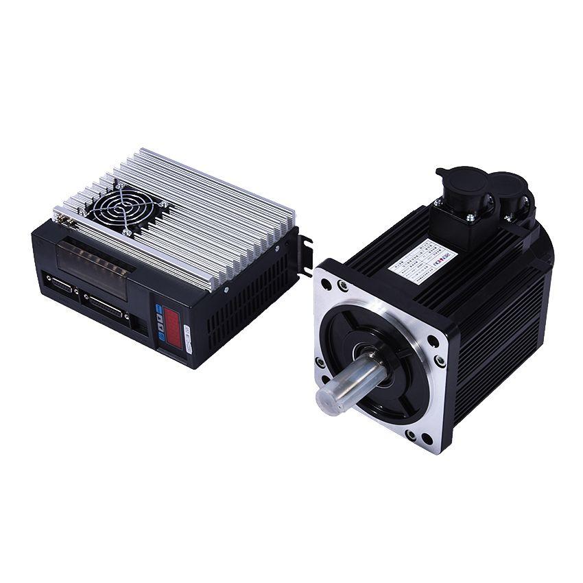 (130ST-M07725) Servomotor 2KW 7.7N.M 2500 rpm 130ST einphasigen AC Servo Motor + Abgestimmt Servotreiber mit Ce-zertifizierung