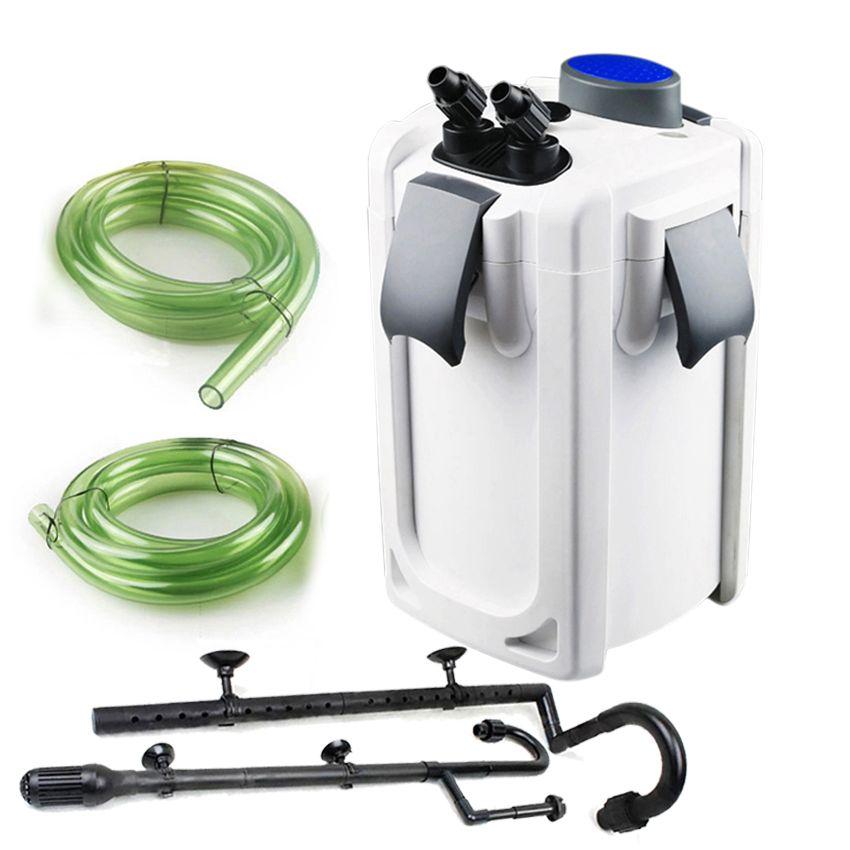 SUNSUN аквариум фильтр ультра-тихий Внешний Аквариум фильтр ведро 220 В/HW-702A-HW704B УФ стерилизатор Аквариум УФ-лампы для аквариума