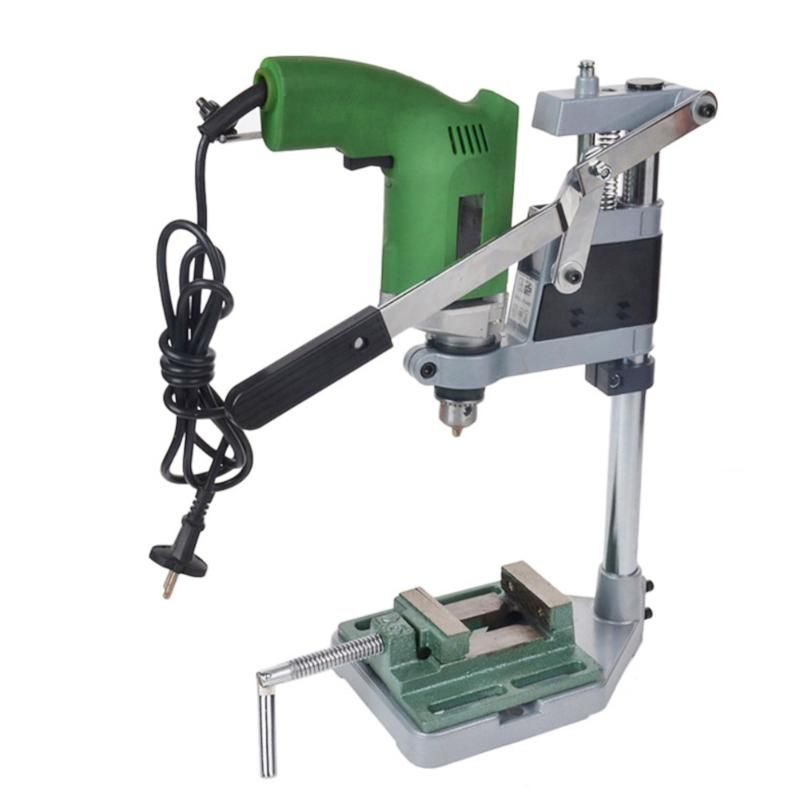 Single-head Electric Drill holding holder bracket Dremel Grinder rack stand clamp Grinder accessories for Woodworking