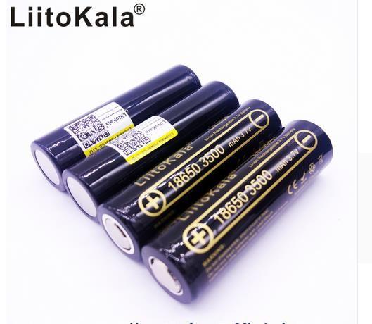 4 PCS 100% Original LiitoKala Lii-35A 18650 3500 mAh Akku 3,7 v Li-Ion Batterie 18650 Batterie/UAV