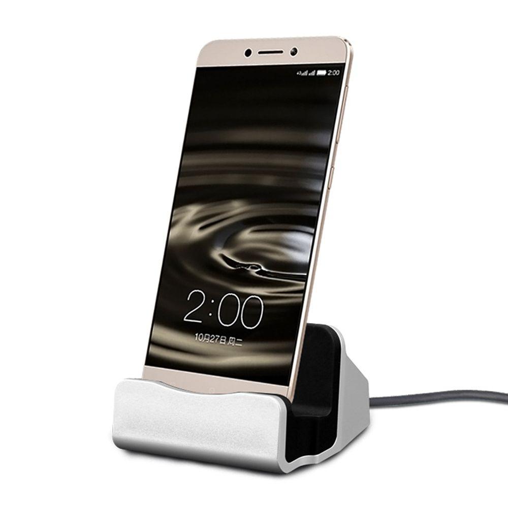 Magnétique de Charge De Bureau Chargeur Berceau Sync Dock Stand Pour Micro USB Smartphone