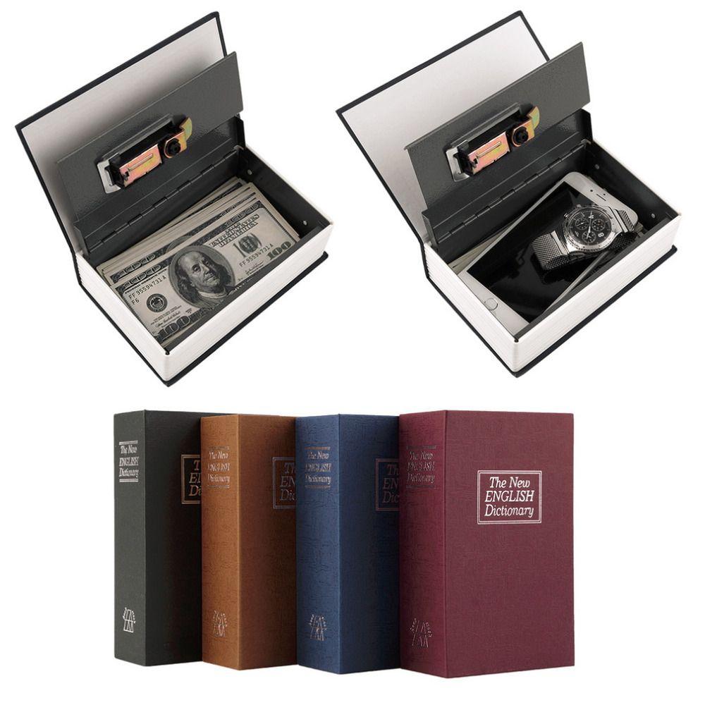Popular <font><b>Safe</b></font> Box Dictionary Secret Book Money Hidden Secret Security <font><b>Safe</b></font> Lock Cash Money Coin Storage Jewellery Password Locker