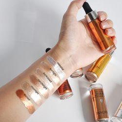 Liquid Highlighter Makeup Contouring Face Brighten Base Primer Bronzer Shimmer Contour Cream Concealer Highlighters 6 Colour