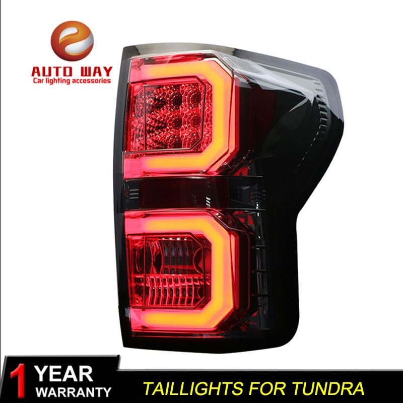 Car Styling case for Toyota Tundra 2007-2013 taillights Toyota Tundra TAIL Lights LED Tail Light LED Rear Lamp Certa taillight