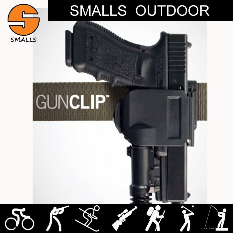 CP style models holster For GLOCK 17/19/22/23 Tactical Airsoft Paintball Hunting Shooting Roto Right-Handed Gun Clip Holster