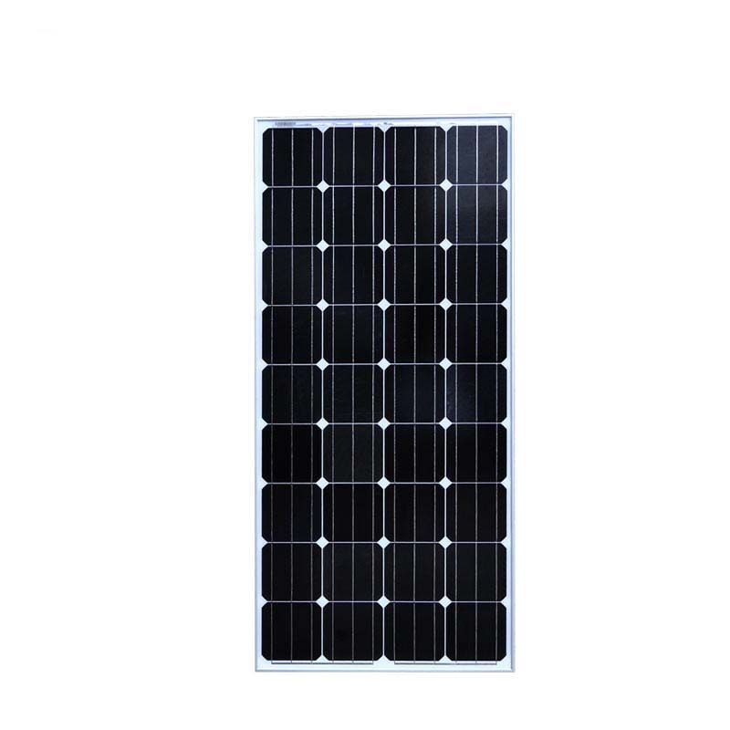 Solar Panel 12v 150W Monocrystalline 12v Chargeur Solaire Led Camping Car Motorhome RV Yacht Solar Home Light System Off Grid