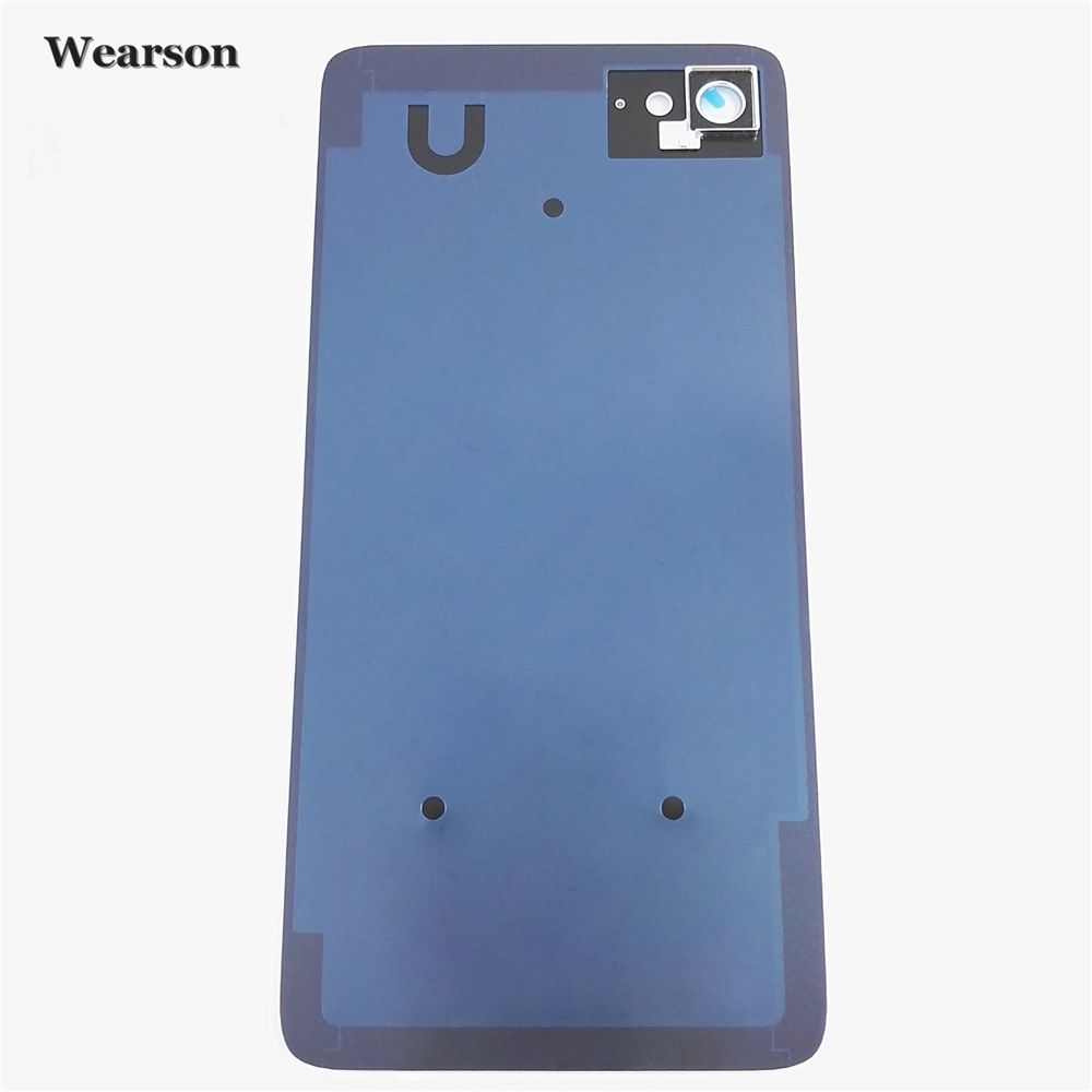 For Lenovo ZUK Z2 Back Cover Camera Glass Frame Z2 PLUS Z2Plus Battery Cover Glass+Glue New Free Shipping With Tracking Number