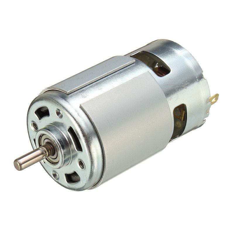 775 DC moteur DC 12 V-36 V 3500--9000 tr/min roulement à billes grand couple haute puissance faible bruit offre spéciale composant électronique moteur