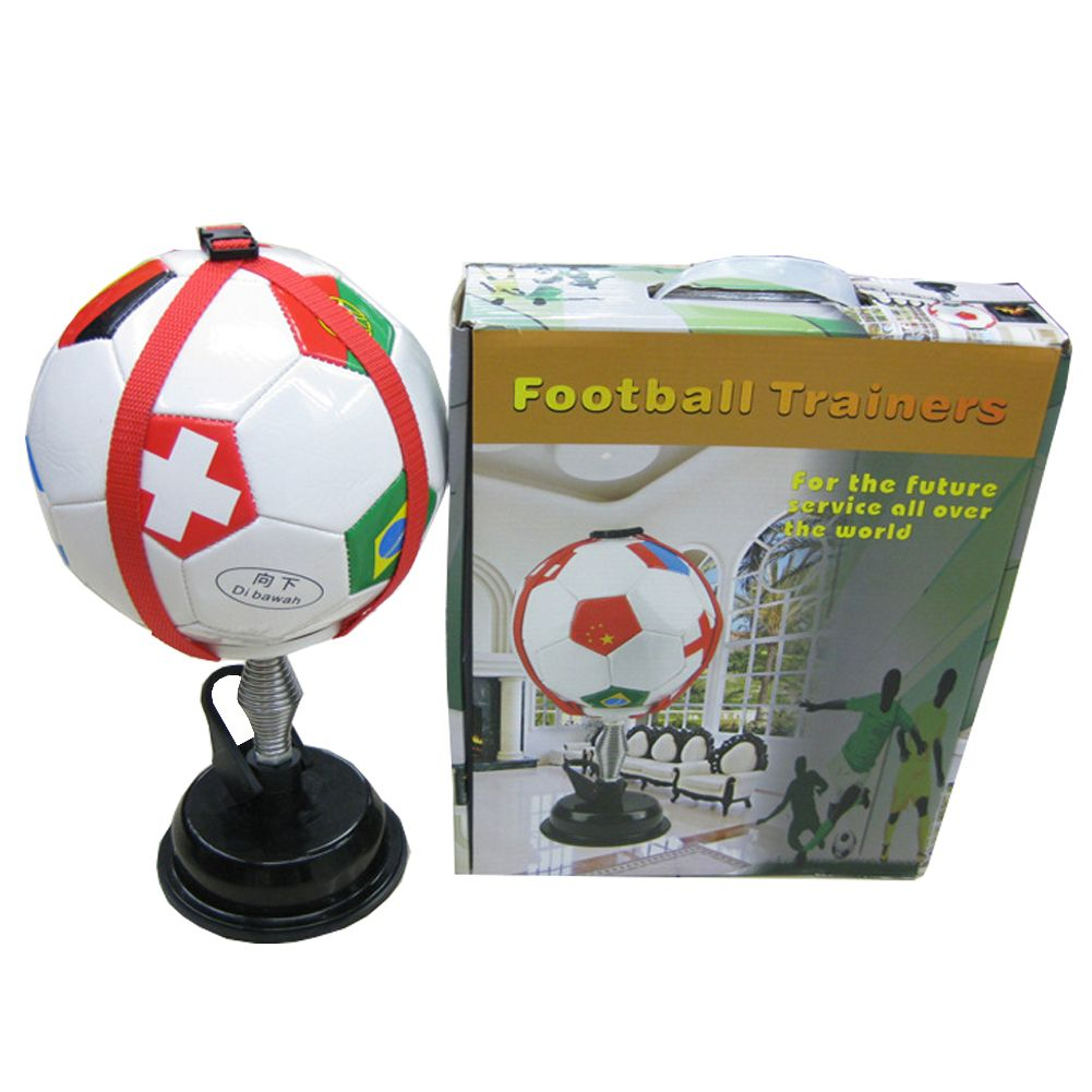 Newest world Football indoor training equipment soccer kick ball speed trainer soccers Practice coach Sports Assistance product