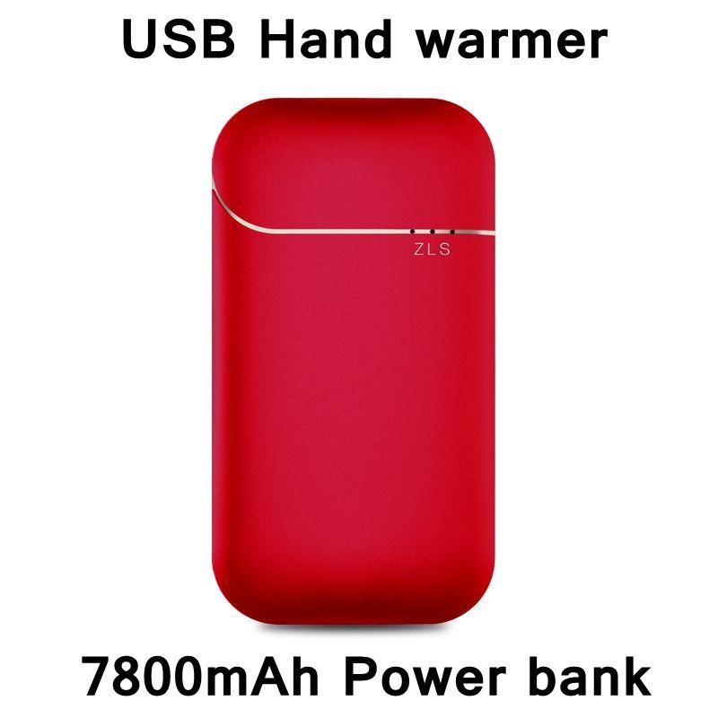 ReadStar 2017 Neue Stil USB handwärmer 7800 mAh energienbank doppelfunktion backup batterie handy-ladegerät Mädchen freund Geschenk 4 farben