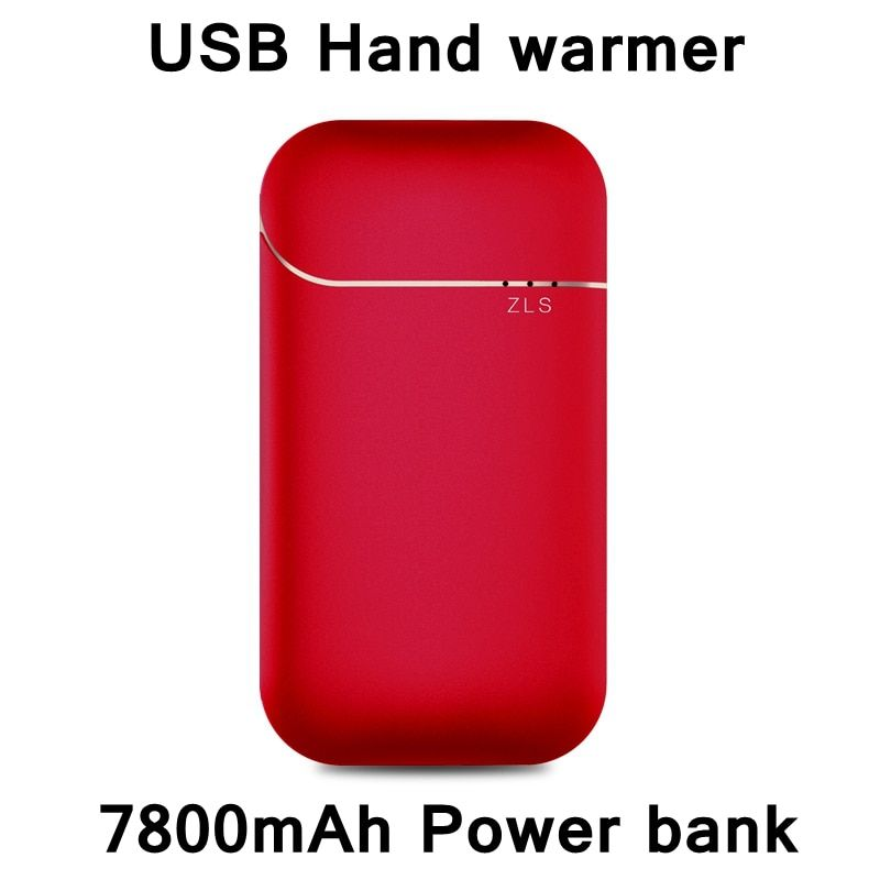 ReadStar 2017 New Style USB hand warmer 7800mAh power bank Dual function backup battery Phone charger Girl friend Gift 4 colors