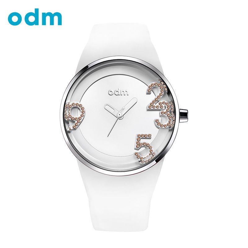 ODM de Lujo Mujeres de la Marca de Relojes de Diamantes Simple Gran Dial de Reloj de Cuarzo Reloj de Pulsera Para Las Mujeres Moda y Casual relogio feminino reloj mujer reloj hombre marca de lujo 2017