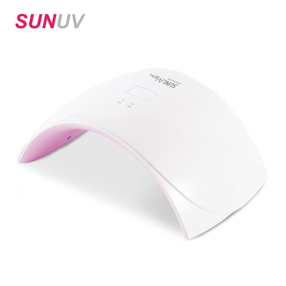 SUNUV Sun9c plus 36W Nail Dryer UV LED Nail Gels Upgrade White Light Nail Lamp Time Display Sensor Control UV Lamp Curing 30s/60