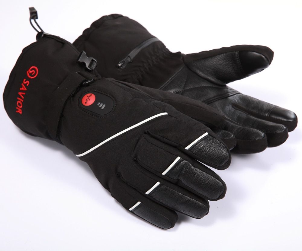 Fingers Heating Gloves 7.4V 2200MAH Electric Heat Waterproof Outdoor Ski golf riding Sport Lithium Battery Self Heating hot