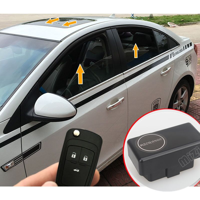 Auto lève-Vitre Dispositif OBD Pour Chevrolet Cruze 2009 2010 2011 2012 2013 2014 Pliant Module Miroir De Fenêtre De Voiture