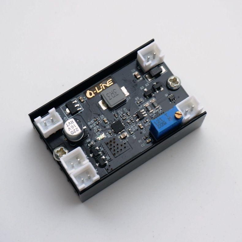 5A 12 V 1-5 W carte de pilote de courant Constant Buck réglable/Diode Laser/pilote de LED w/TTL/PWM fréquence de ventilateur de Modulation 150 kHz
