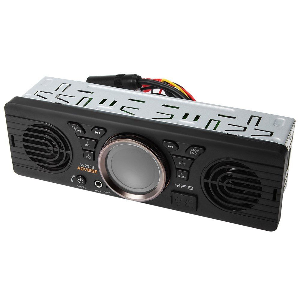 Zeepin 4.3 дюймов автомобиля MP3-плееры Bluetooth Электроника 12 В аудио плеер в тире стерео fm Радио с USB /TF Порты и разъёмы