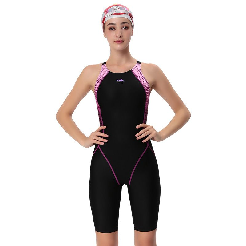 YINGFA swimwear women one piece competitive swimsuit girls sport sharkskin racing competition swimming suits female bathing suit