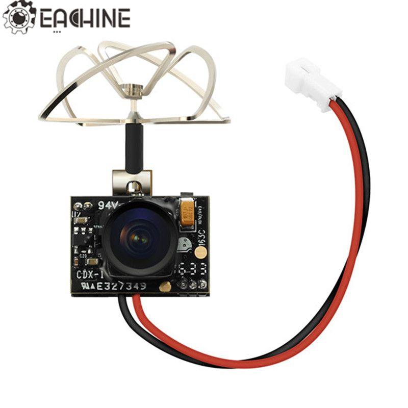 Hot Sale Eachine TX02 Super Mini AIO 5.8G 40CH 200mW VTX 600TVL 1/4 Cmos FPV Camera For FPV Multicopter