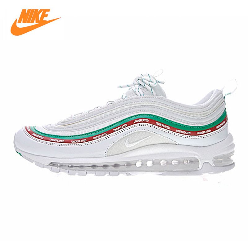 Nike Air Max 97 X UNDFTD Men's Running Shoes,Outdoor Sneakers Shoes, White, Non-slip Lightweight Breathable AJ1986 100
