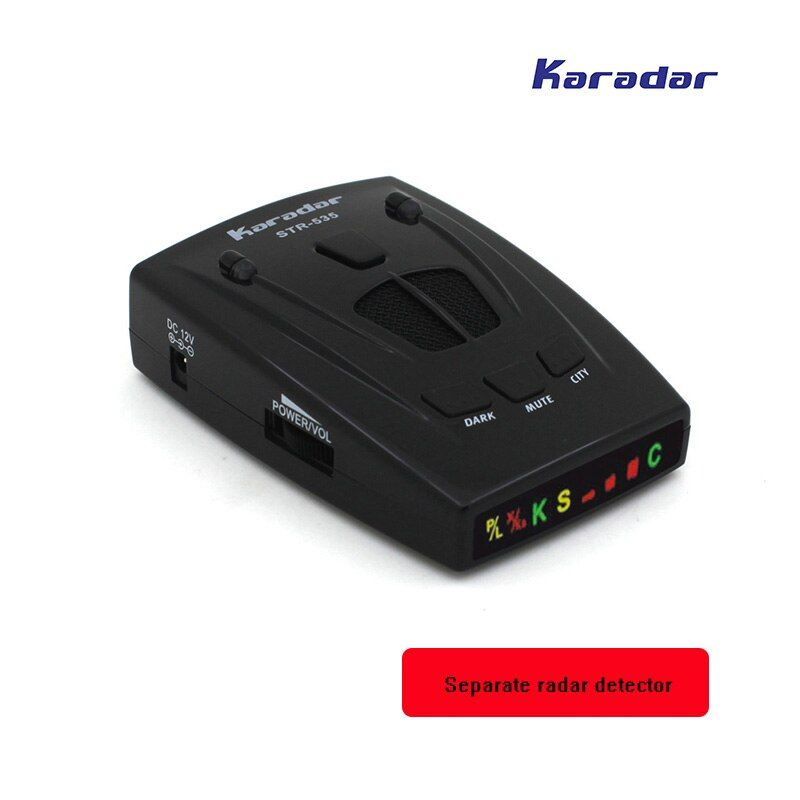 KARADAR Separate radar detector Car anti radar with Icon Display X K Laser Strelka bands Anti Radar car-detector human <font><b>voice</b></font>