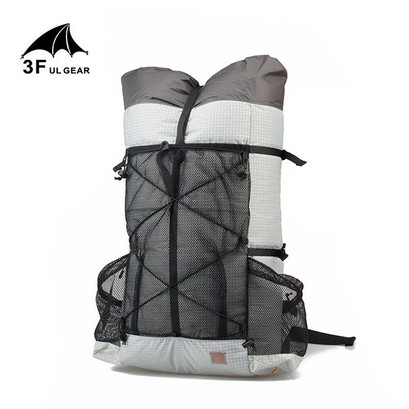 3F UL GEAR Outdoor Camping reise rucksack wandern rucksack 26L 38L Ultraleicht Rahmenlose Trekking Packs