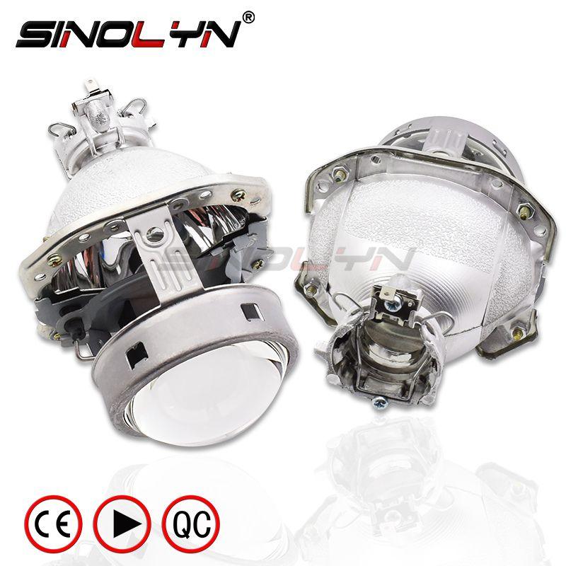 G4 EVOX-R HID Bi-xenon Projektor Objektiv Für AUDI A6L C5 A8 A4 B6/BMW E39 X5 E53 z4 E60/Ford Fiesta/Benz ML W163/Lancer EvoX-R/B6