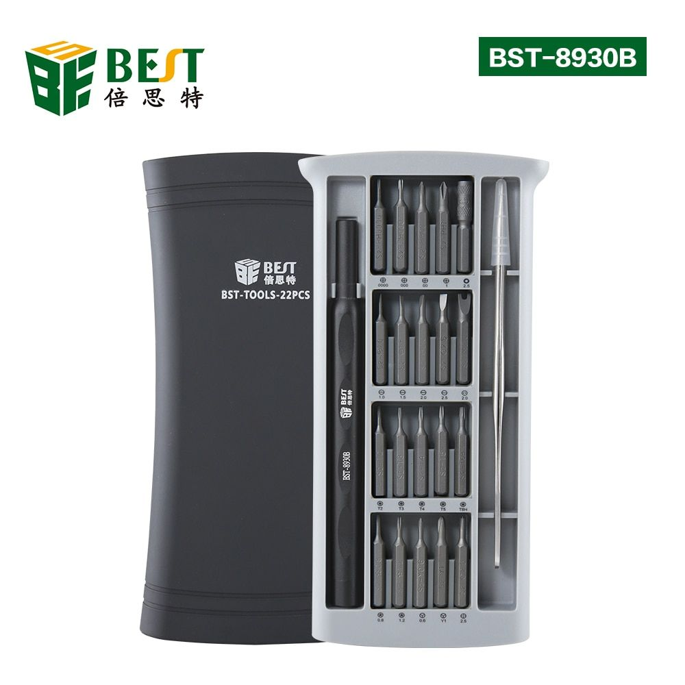 BST-8930B New Version 20 Bits Universal Cell Phone Camera Multi Hand Precision Screwdriver Set