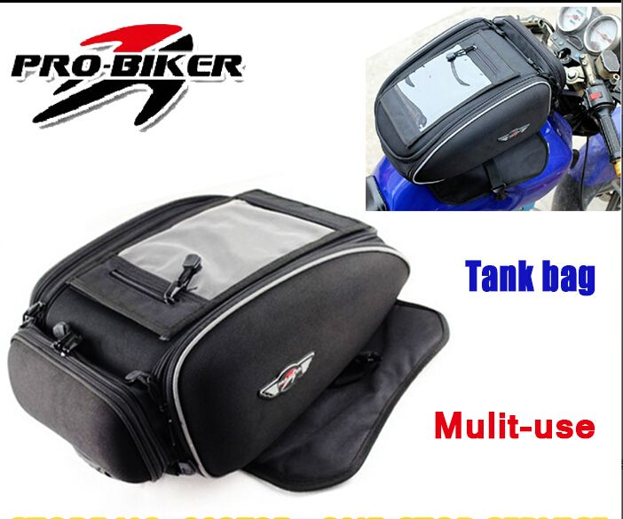 High Quality 30L Magnetic Motorcycle Tank Bag Motorbike Waterproof Backpack Bags Mochila Moto Luggage Box HX002