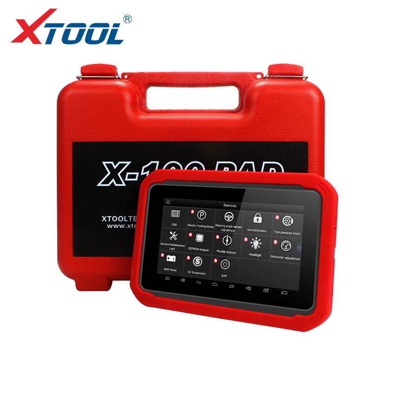 X100 PAD OBD2 Auto Key Programmer Diagnostic Scanner Automotive Code Reader IMMO EPB DPF BMS Reset Odometer EEPROM Update online