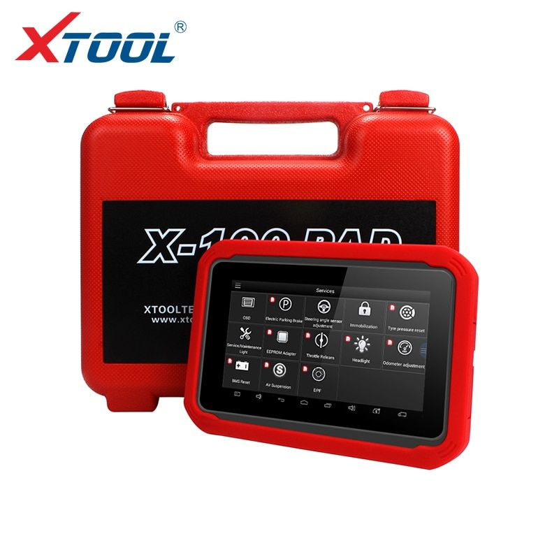 X100 PAD OBD2 Auto Schlüssel Programmierer Diagnose Scanner Automotive Code Reader IMMO EPB DPF BMS Reset Kilometerzähler EEPROM Update online