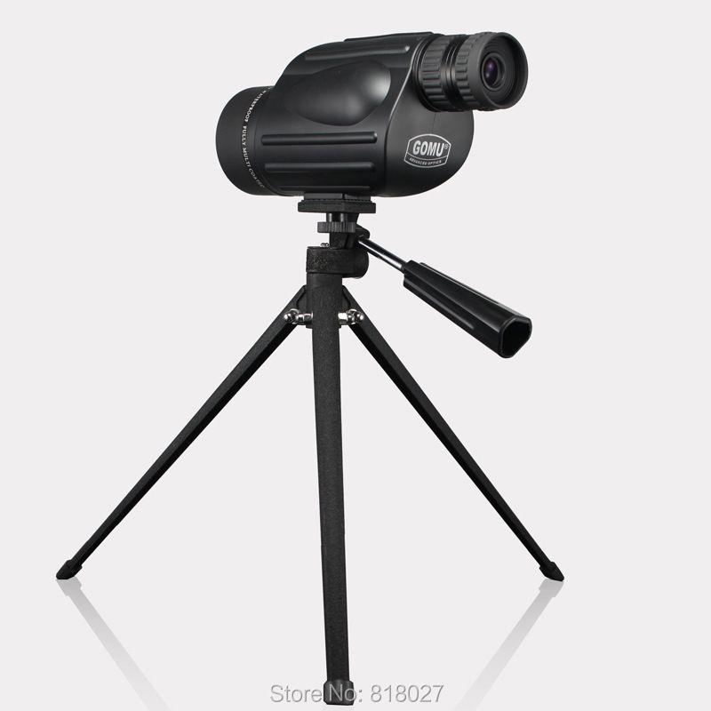 GOMU 10-30X50 zoom monocularteleskop wasserdicht Stickstoff hand Tragbare Spektiv ziel vogelbeobachtung bak4 Original