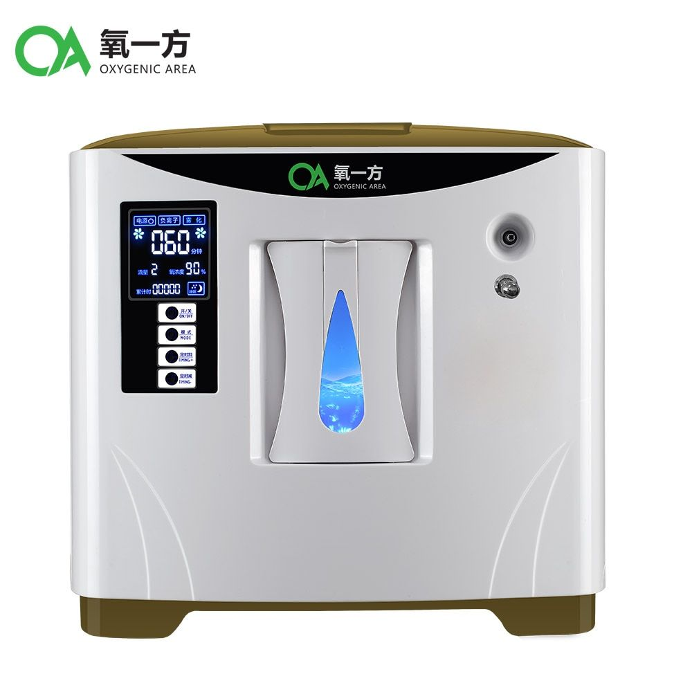 Atomizing 9L large Flow home use mini medical portable oxygen concentrator generator with atomizing function XY-1SM