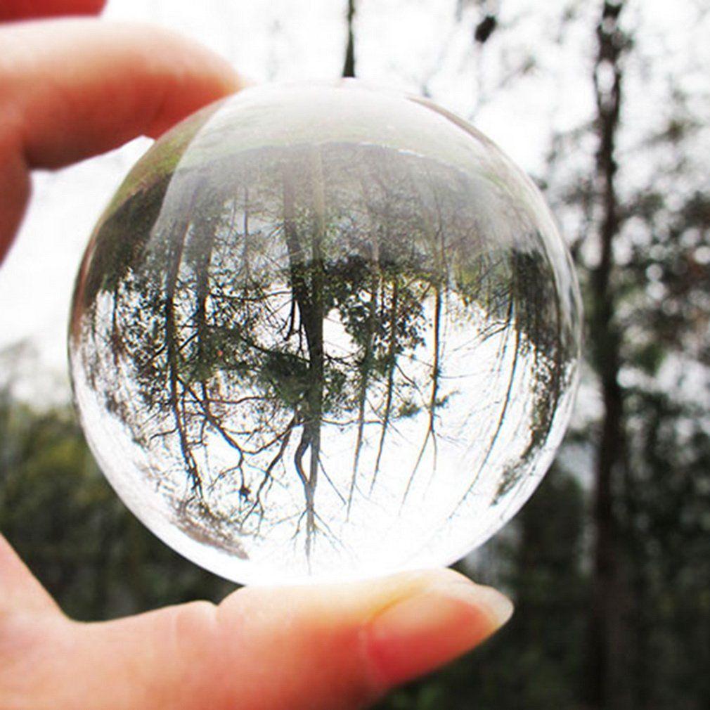 60 мм 80 мм 100 мм круглый Редкие четкие Стекло искусственного кристалла исцеления Бал Сфера украшения китайский Стиль фэн-шуй декор P25