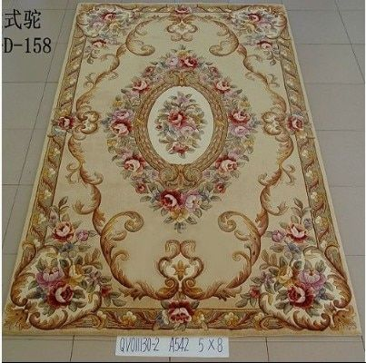 Handmade wool carpet large size rugs Europe floral living room coffee table carpet bedroom carpet wall to wall carpet WC-001