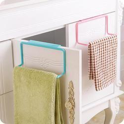 Кухня вешалка держатель для полотенец Держатель Шкаф для кухонных шкафов, задняя дверь вешалка Полотенца стеллаж для хранения