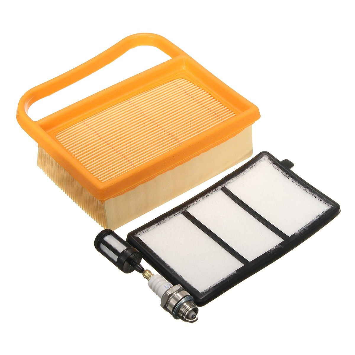 AIR FILTER CLEANER FUEL FILTER For SPARK/PLUG SET For STIHL TS410 TS 410 TS420 TS 420 SAWS COMBO 4238 141 0300 Replacement Parts