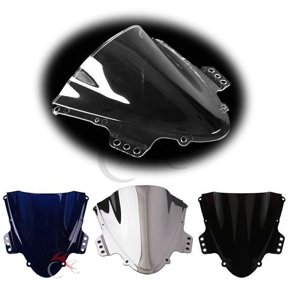Motorcycle Chrome Windshield Windscreen For Suzuki GSXR1000 GSXR 1000 K5 05-06