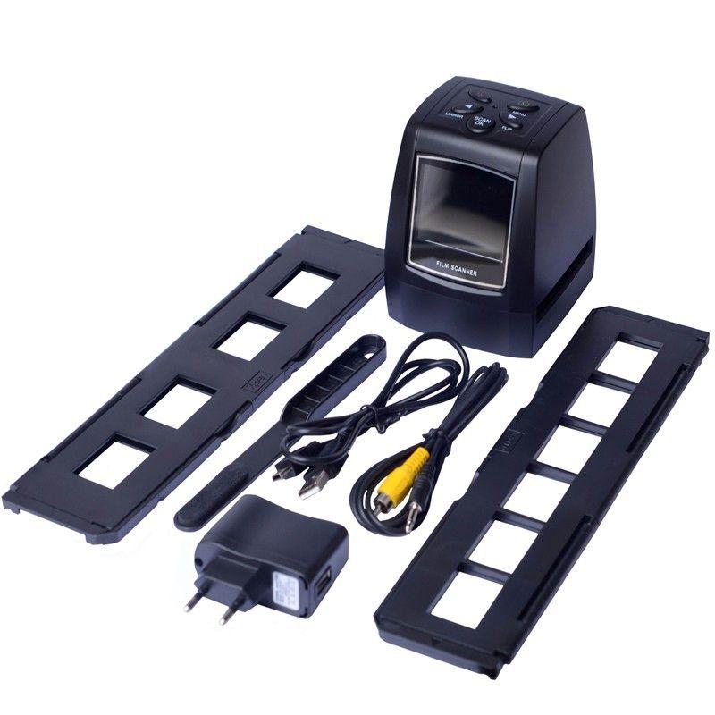 High Resolution 5 MP USB 2.0 TFT Film Scanner 35mm Slide Film Scanner Digital Negative Film Converter SD Card  Film Scan