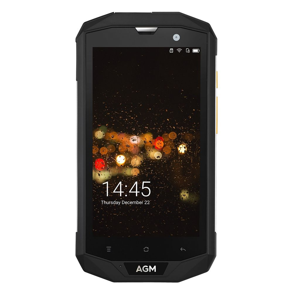 Original AGM A8 4G Smartphone Android 7.0 5.0 inch MSM8916 Quad Core 1.2GHz 4GB + 64GB 13.0MP Rear Camera IP68 Waterproof Phone