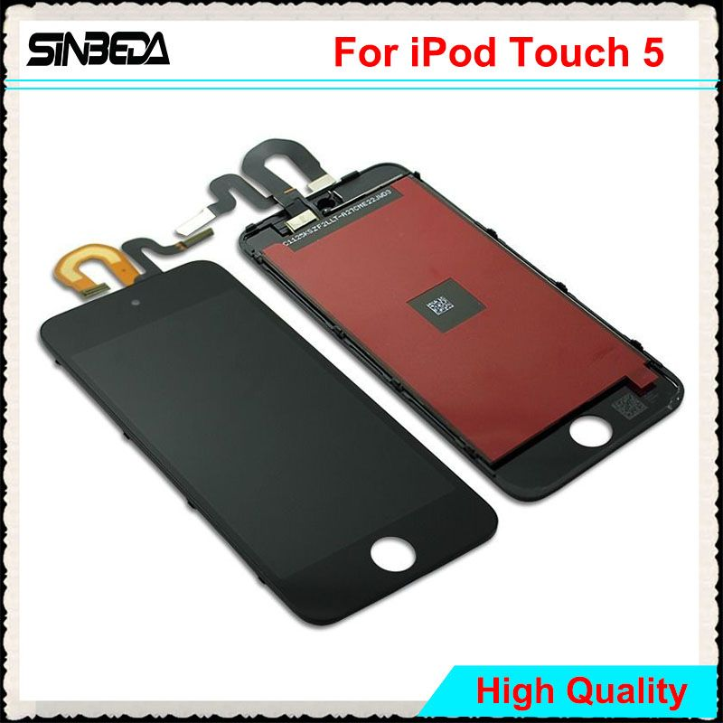 Sinbeda Best Price Display For iPod Touch 5 5th LCD Touch Screen Digitizer Assembly For iPod Touch 6 6th 4.0