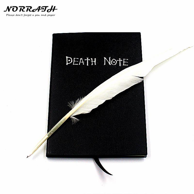 NORRATH Chaude Mode Anime Thème Death Note Cosplay Notebook Nouvelle Mode Fournitures Scolaires Rédaction Journal Meilleur Cadeau pour L'anniversaire