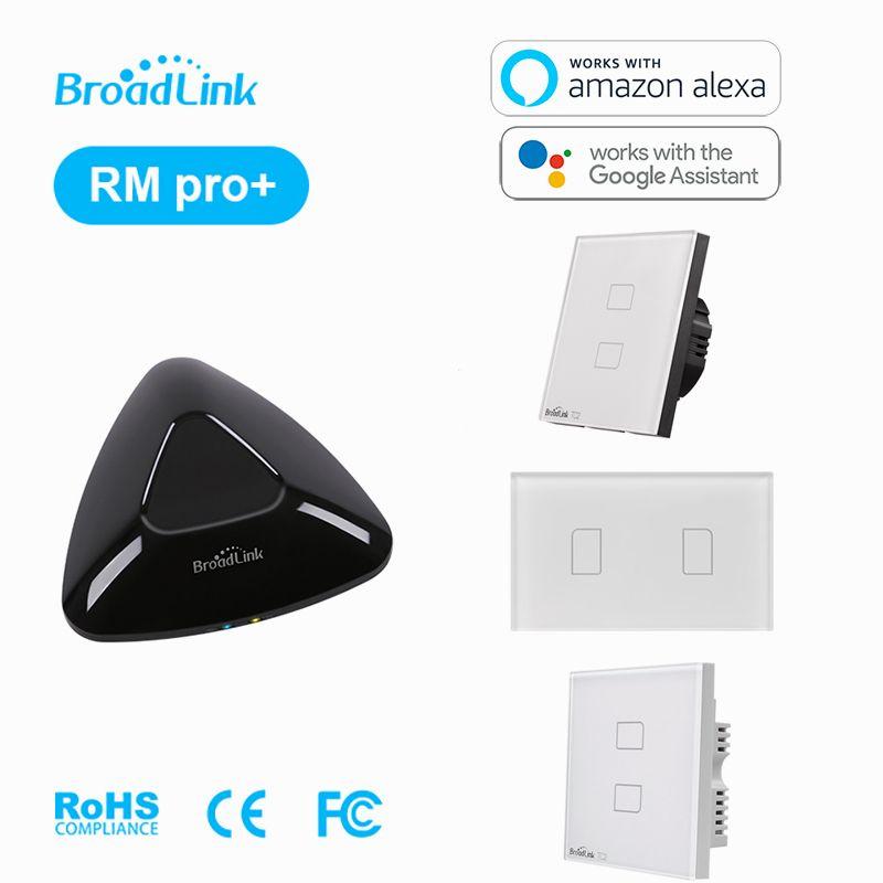 Télécommande universelle intelligente WIFI + IR + RF + TC2 2 commutateur d'éclairage à distance marche/arrêt Via IOS AndroidPhone