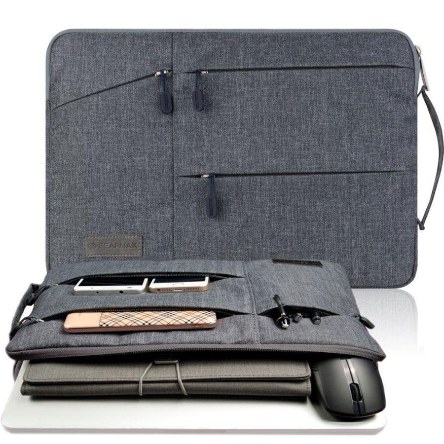 Gearmax Sac D'ordinateur Portable Cas pour MacBook Air Pro 11.6 12 13.3 15.4 Étanche Portable Sac pour Dell 15.6 pouce Cas laptop Sleeve 15.6