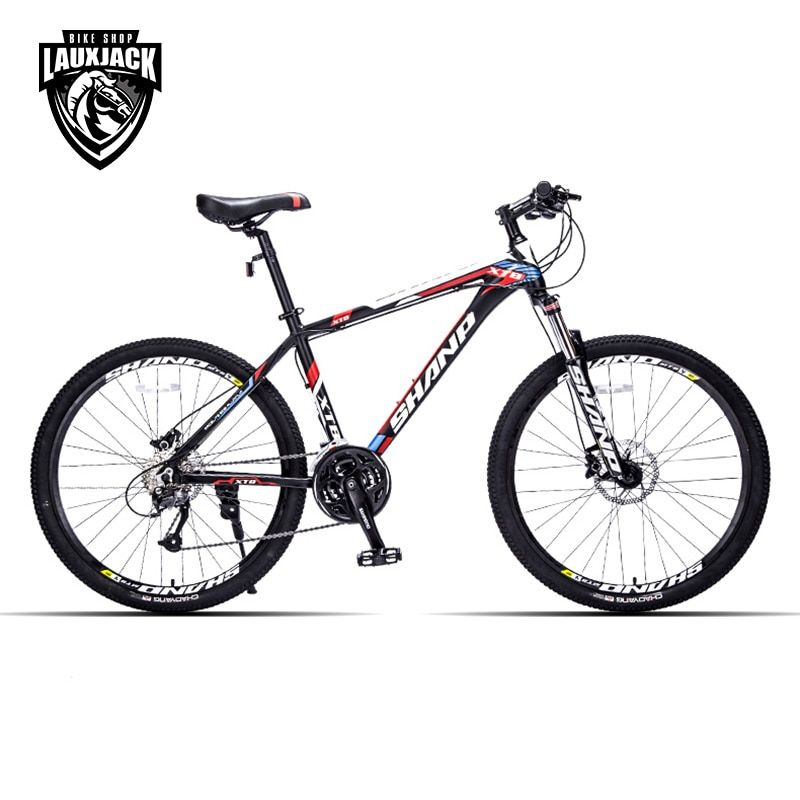 <font><b>SHANP</b></font> Mountain Bike Aluminum Frame 27 Speed 26 Wheel Hydraulic/Mechanical Brake Microshift
