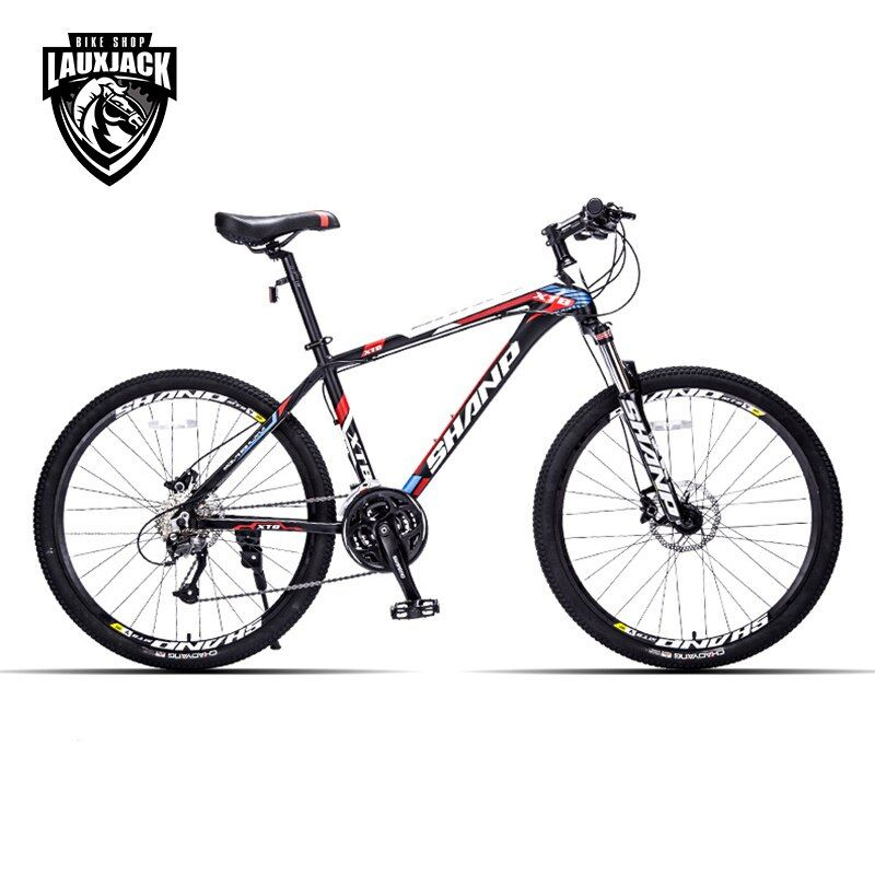 SHANP Mountain Bike Aluminum Frame 27 Speed 26 Wheel Hydraulic/Mechanical <font><b>Brake</b></font> Microshift